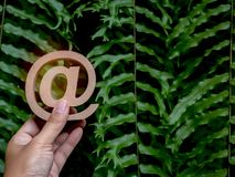 E-mailadrespictogram royalty-vrije stock afbeeldingen