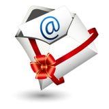 E-mailgiftpictogram Royalty-vrije Stock Afbeelding
