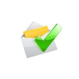 E-mailowa ikona wektor Zdjęcie Royalty Free