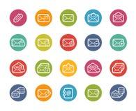 E-mailowe ikony -- Printemps serie Obrazy Royalty Free
