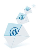 E-mails Stock Image