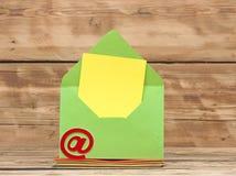 E-mailsymbool Stock Foto's