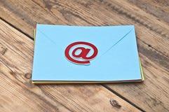 E-mailsymbool Royalty-vrije Stock Afbeeldingen