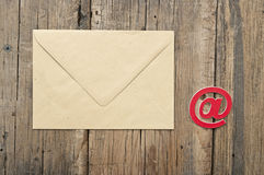 E-mailsymbool Stock Foto
