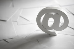 E-mailsymbool Stock Afbeelding