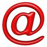 E-mailtekenpictogram Stock Foto's