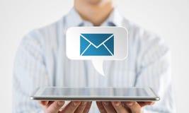 E-mailtoepassingspictogram Stock Afbeelding