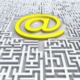E-maze Royalty Free Stock Photo