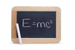 E=mc ² Stock Fotografie