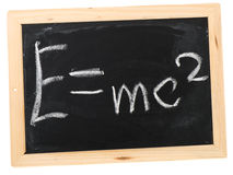 E=mc ² Stockfotografie