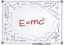 E=mc2 Royalty Free Stock Photos