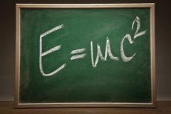 E=mc2l formula Royalty Free Stock Photos