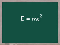 E=MC Squared Stock Photography