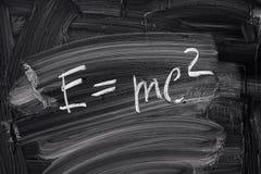 E=mc2. imagen de archivo libre de regalías