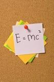 E=MC2 Photos stock