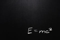 E=mc2 Stock Images