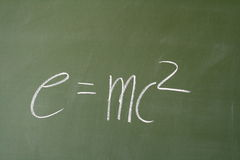 E=mc2 Stock Photography