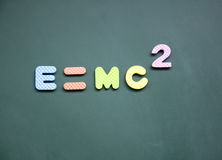 E=mc2 sign Royalty Free Stock Photos