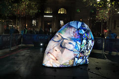E|MERGEnce at Vivid Sydney Stock Photography