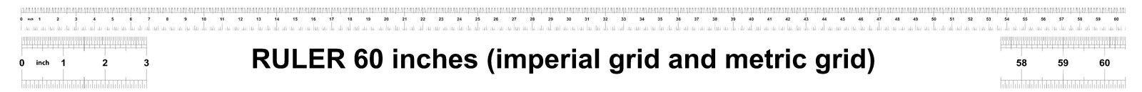 E Metrische heerser 160 duim Nauwkeurig metend hulpmiddel Kaliberbepalingsnet stock illustratie