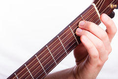 E minor chord Royalty Free Stock Photos