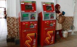 E-money electronic ticketing Royalty Free Stock Images