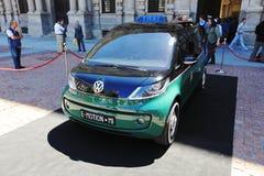 E-Motion Milano taxi presentation royalty free stock photos