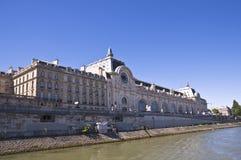 e mus orsay Paris widok Zdjęcia Stock