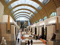 E Musee d ` Orsay, Paryż, Francja obraz royalty free