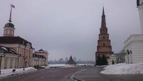E O marco o mais familiar em Kazan r imagens de stock royalty free