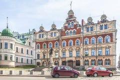 E Oude Stad Hall Square royalty-vrije stock foto
