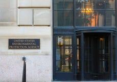 e P A frontowy wejście w DC Obraz Stock