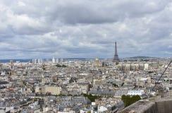 E Parijs, Frankrijk royalty-vrije stock foto