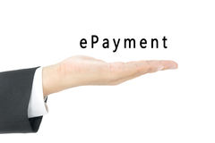 E-payment Stock Photography
