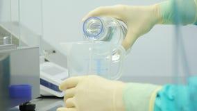 E Pharmazeutische Forschung stock video footage