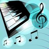 E-Piano Lizenzfreie Stockfotos