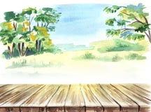 E picknick E stock illustrationer