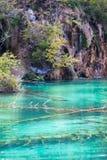 E Plitvice jeziora obraz royalty free