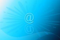 e-postöverkant arkivfoton