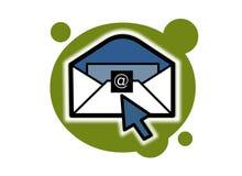 e-post royaltyfri illustrationer