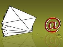 e-post Royaltyfria Bilder