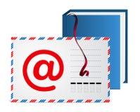 e-post för adressbok Royaltyfri Bild