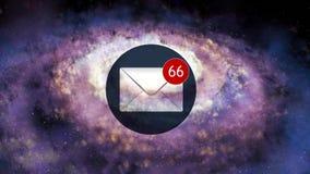 e-post Stort belopp av email 5 royaltyfri illustrationer