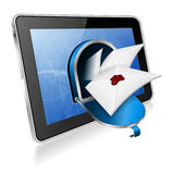 E-postbegrepp Arkivbild