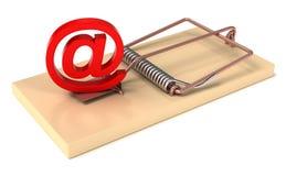e-postblockering Arkivfoto