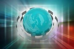 E - postconcept Royalty-vrije Stock Afbeeldingen