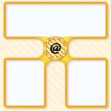 e-posten packar öppet motta för symbolsposter in Arkivbilder