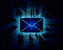 e-postillustration Royaltyfria Foton