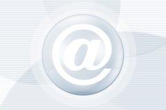 e-postinternetsymbol royaltyfri illustrationer