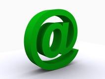 e-posttecken Arkivfoto